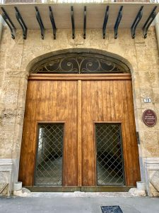 Ingresso Palazzo Lampedusa