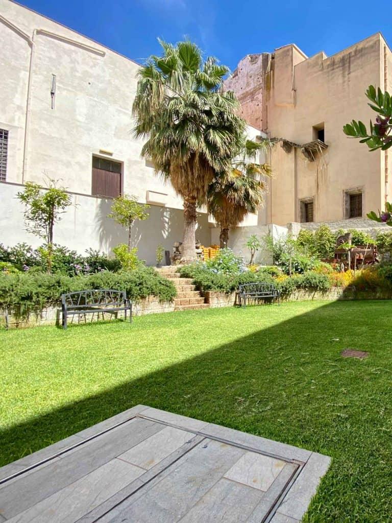 Giardino Palazzo Lampedusa